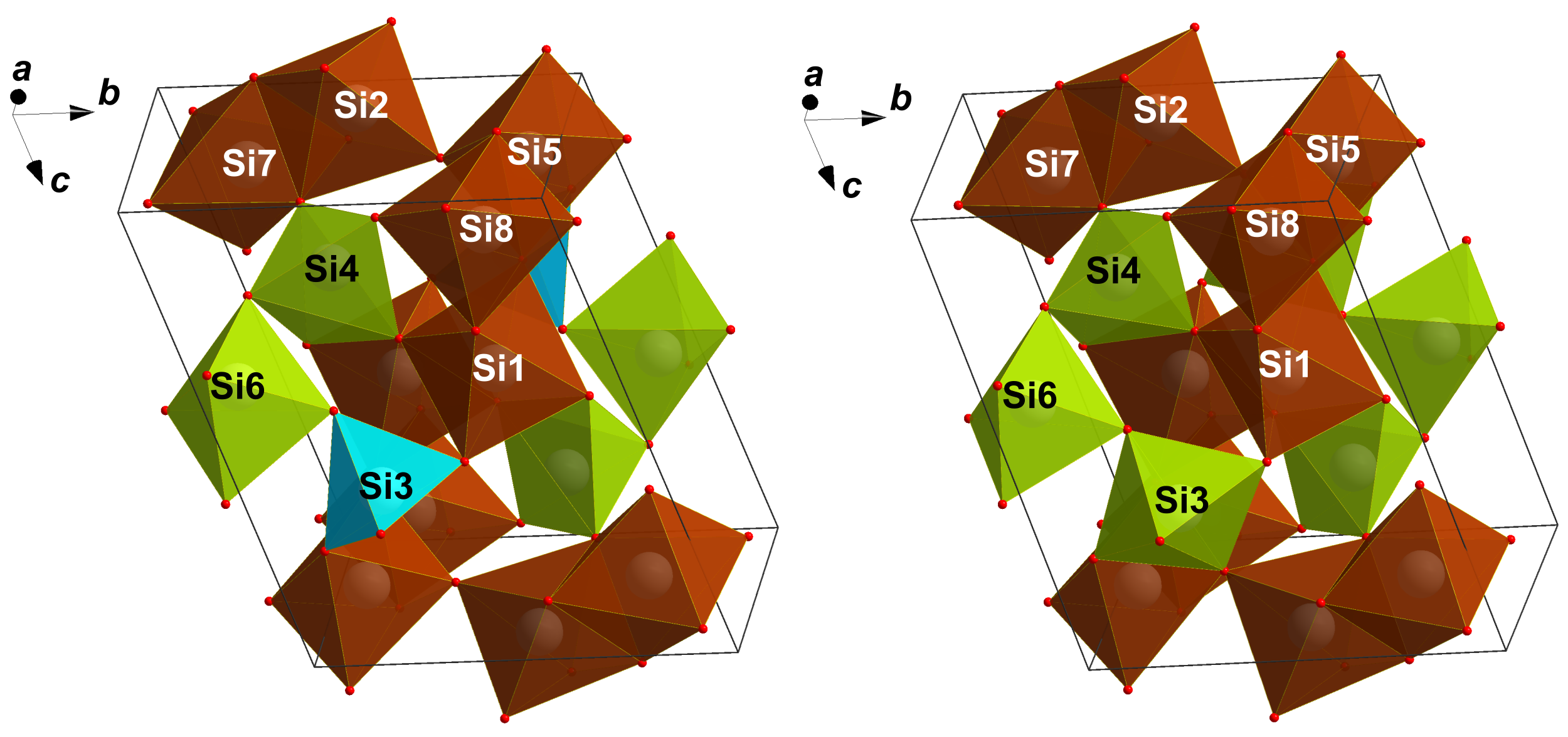 Crystal structures of coesite-IV and coesite-V