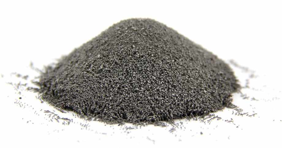 Metallic iron powder